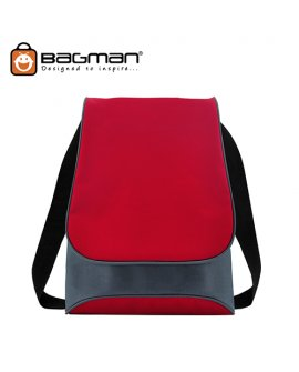 Bagman Netbook Messenger Bag S04-227SLB-03 Red