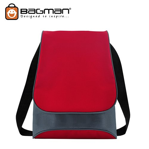 Bagman Netbook Messenger Bag S04-227SLB-03 Red