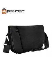 Bagman Ipad/Tablet Messenger Bag S04-287SLB-01 Black