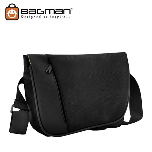 Bagman Ipad/Tablet Messenger Bag S04-287SLB-01 Black
