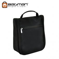 Bagman Toiletry Pouch S04-341TOI-01 Black