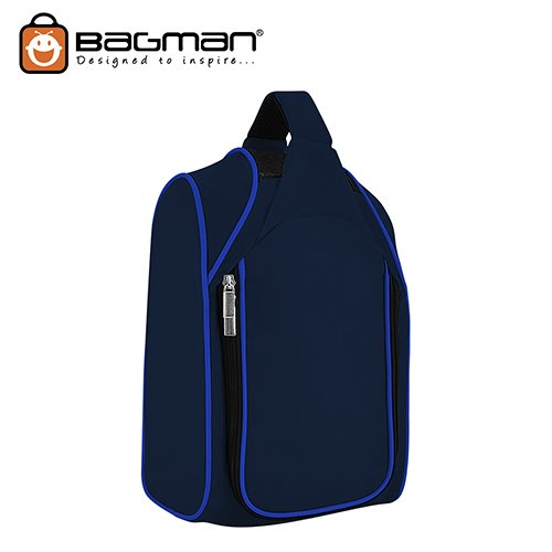Bagman Shoe Bag S04-344SHB-02 Navy Blue