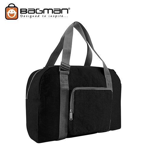 Bagman Foldable Travel Bag S05-050FOL-01 Black