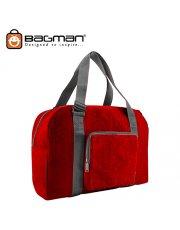 Bagman Foldable Travel Bag S05-050FOL-03 Red