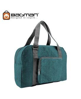 Bagman Foldable Travel Bag S05-050FOL-13 Turquoise