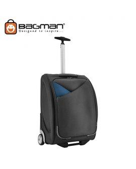 Bagman Cabin Trolley Bag S05-140T-01 Black Grey