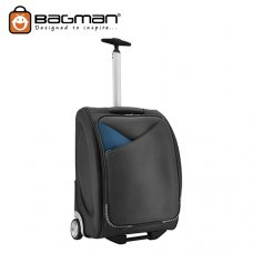 Bagman Cabin Trolley Bag S05-140T-01 Black Grey