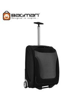 Bagman Cabin Trolley Bag S05-141T-01 Black Grey