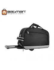 Bagman Trolley Travel Bag S05-237T-01 Black