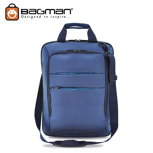 Bagman Convertible Laptop Carrier S06-019CON-02 Navy Blue
