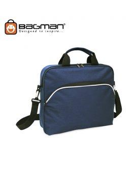 Bagman Document Bag S06-120STD-02 Navy Blue
