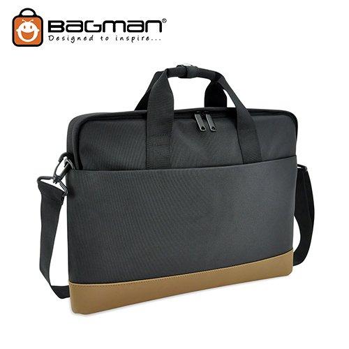 Bagman Laptop Document Bag S06-391LAP-01 Black