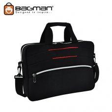 Bagman Laoptop Document Bag S06-392LAP-01 Black