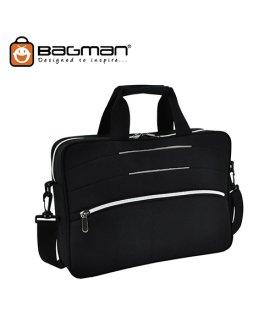 Bagman Laoptop Document Bag S06-392LAP-07 Grey