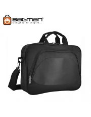 Bagman Laptop Document Bag S06-463LAP-01 Black
