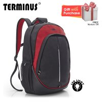 Terminus Bikerz Backpack - Dark Red