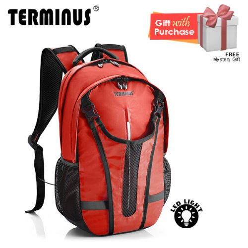 Terminus Cyclis Backpack - Dark Red