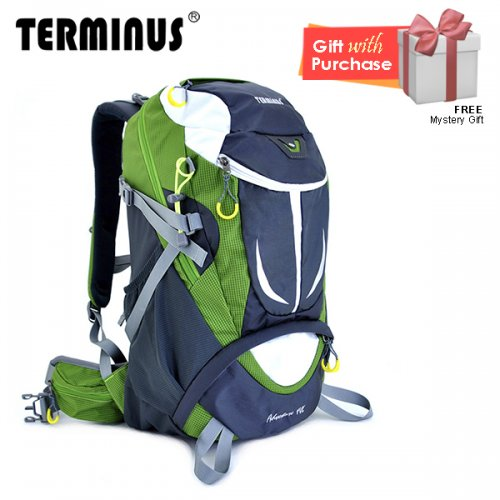 Terminus Hiking Adventure 40L Backpack - Apple Green