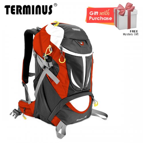 Terminus Hiking Adventure 40L Backpack - Orange