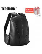 Terminus Simple-Mate (PU) Backpack - Black