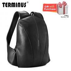 Terminus Simple-Mate (PU) Backpack - Black
