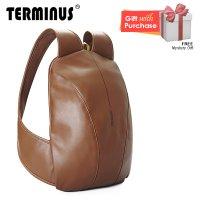 Terminus Simple-Mate (PU) Backpack - Brown