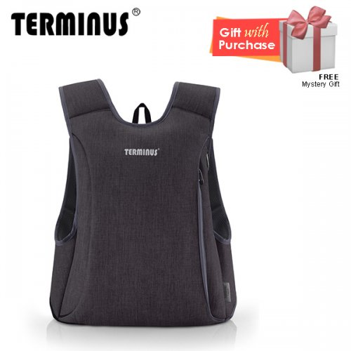 Terminus Slimmac 2.0 Backpack - Black